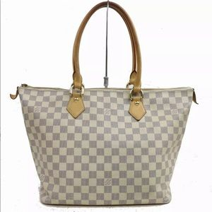 Authentic Louis Vuitton Azur Saleya MM Bag